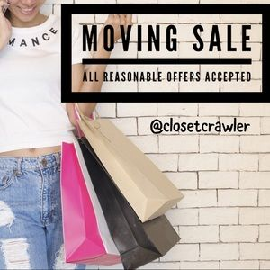 MOVING SALE - Reasonable Offers Accepted!